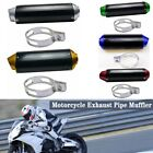 38mm CNC Alloy Exhaust Muffler + Clamp for 110cc to 250cc Dirt Pit Bike SDG SSR