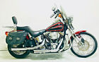 2000 Harley-Davidson Softail  2000 Harley Davidson Springer Softail FXSTS 2-tone Luxury Rich Red Vivid Black
