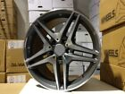18 MERCEDES BENZ AMG GUNMETAL RIMS WHEELS S CLASS S430 S500 S550 S400 S600 C55