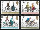 1978 Centuries of Cycling Stamp Set