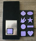 Stampin Up Mover  Shapers Die Bundle By Sizzix Card Holiday  Window Punch