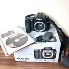 Canon EOS 30D 8.2MP Digital SLR Camera - Black - With Box, Battery and Manuals