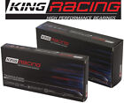 King Cr807hpn Mb557hp Rodmain Race Bearings Set Kit For Chevy 305 350 383