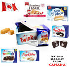 Twinkies Hostess USA Cup Cakes Brownies Lune Moon Marshmallow Passion Flake