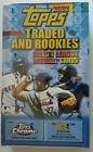 2002 Topps Traded and Rookies Baseball Hobby Box RC Jose Bautista, autographs