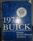 1973 Buick Chassis Service Shop Manual