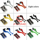 FXCNC For KYMCO GRAND DINK 250CC CNC Short Brake&Clutch Levers w/Handle Grip