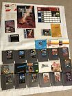 NES 13 Game Lot w/ Manuals & Inserts Nintendo 1942, Kung Fu, Exodus, Gyromite