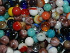 SPECIAL 100 Marbles: Jabo,Champion Agate, Marble King Marbles Good Variety