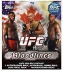 2012 Topps UFC Bloodlines Hobby Box From Sealed Case RC AU 1 1 Rousey Silva etc!
