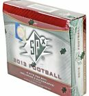 2013 Upper Deck SPX Football Hobby Box From Sealed Case 4 Hits 3 Autographs AU