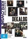 Dekalog KIESLOWSKI KRZYSZTOF DVD 5 Disc Set RARE NEW SEALED FREE POST