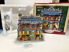 Rare 2008 LEMAX Anderson Family Grocery Store Plymouth Christmas Village MIB