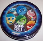 PRE OWNED Disney Store Inside Out Set of 6 Magnets Collectible Tin