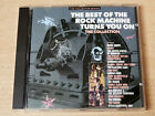 The Best Of The Rock Machine Turns You On/1989 CD Album/Moby Grape/Spirit/Byrds