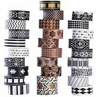 27 Rolls Arts  Crafts Tape Washi Set DIY Gift Wrapping Scrapbooking And Craft