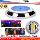 Underwater LED Swimming Pool Light 12V 18W RGB Bulb Led Filled Resin Waterproof