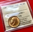 1911 C Canada Sovereign Gold Coin - ICCS MS-62