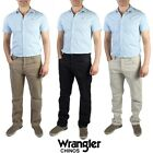 MENS WRANGLER CHINO JEANS SOFT STRAIGHT LEG VINTAGE SIZE 28 in to 42 in