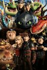 HOW TO TRAIN YOUR DRAGON II 2 Vintage Classic Collectors Poster 24x36 inch 1