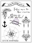 PRIMA MARKETING 3x4 Clear Stamp French Riviera 2Stamping Stamp Sets Card makin