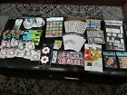HUGE Lot of 61 Stickers and Scrapbooking Craft Supplies