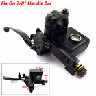 Left Hand Hydraulic Brake  Master Cylinder & Handle Lever Fit 50CC~250CC ATV