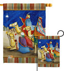 Three Kings Nativity Gospel Matthew Christian Jesus Gift Garden House Yard Flag