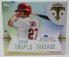 2018 Topps Triple Threads Factory Sealed Hobby Box 2 Hits mini-box