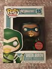 Funko Pop Gemini Exclusive DC Universe Metallic Green Arrow #15 LE 240