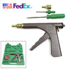 Car Motorcycle Tire Plugger Tubeless Tire Wheel Repair Gun+Nozzle and Probe Tool