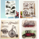 DIY Transparent Silicone Stamp Clear Cling Scrapbooking Card Decor Crafts Gift