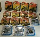 LOT 15 NEW MAISTO TAILWINDS ASSORTMENT DIECAST PLANES  HELICOPTORS W STANDS
