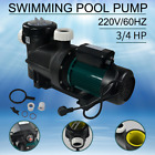 Swimming Pool Circulation Water Pump 3 4 HP Water Pool Pump Filter Pump 220V