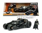 JADA 124 METALS DARK KNIGHT BATMOBILE  BATMAN DIE CAST BLACK 98261