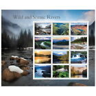 US NATURE SCOTT 5381 AMERICAS WILD AND SCENIC RIVERS 12 FOREVER STAMP SHEET NIP