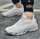 Mens Fashion Athletics Sneakers Lace up Breathable Sports Running Shoes Plus Sz