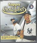 2018 TOPPS GOLD LABEL FACTORY SEALED HOBBY BOX ONE FRAMED AUTO GUARANTEED