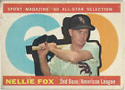 Nellie Fox Cards and Autographed Memorabilia Guide 3