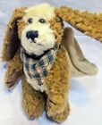 Boyds Collection Angel Dog Wings Retired Hanging Ornament Jointed Brown Bandana
