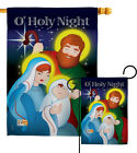O Holy Night Nativity Religion Noel Jesus Child Garden House Yard Flag
