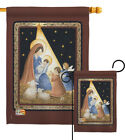 The Lord Is Born Nativity Angel Novl Jesus Mary Garden House Yard Flag