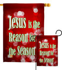 Jesus Is The Reason Nativity For Season Religion Noel Garden House Yard Flag