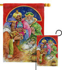 Three Kings Gifts Nativity 3 Jesus Religion Holy Garden House Yard Flag