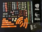 Star Wars X wing Lot Acrylic Tokens FFG Worlds Open Templates Range Bag