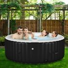 NEW 4 Person Massage Spa Portable Hot Tub Inflatable Outdoor Bubble Jets Patio