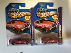 2013 Hot Wheels Lot of 2 70 Chevy Chevelle Toys R Us exclusive Edelbrock Red