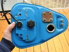 VINTAGE 1979 YAMAHA Qt50 YAMAHOPPER MOPED SCOOTER BLUE GAS TANK PETCOCK