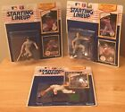 Vintage 1989 Starting Lineup Figures NIP Don Mattingly, Mark McGwire, Wade Boggs