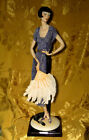 GIUSEPPE ARMANI *LADY WITH FAN* SCULPTURE 387C FLORENCE ITALY